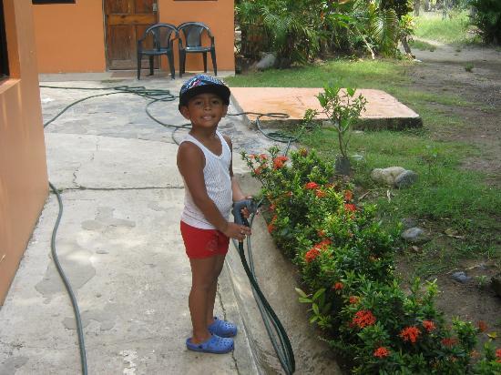 La Dolce Vita: Our gardener !