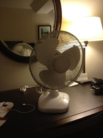 Marriott Forest of Arden Hotel & Country Club: marriott's version of air conditioning