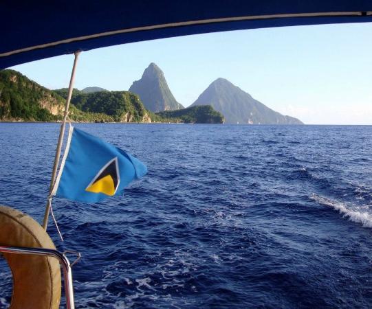 Bateau Mygo Sailing Charters: Pitons