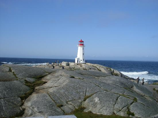Peggy's Cove Lighthouse照片
