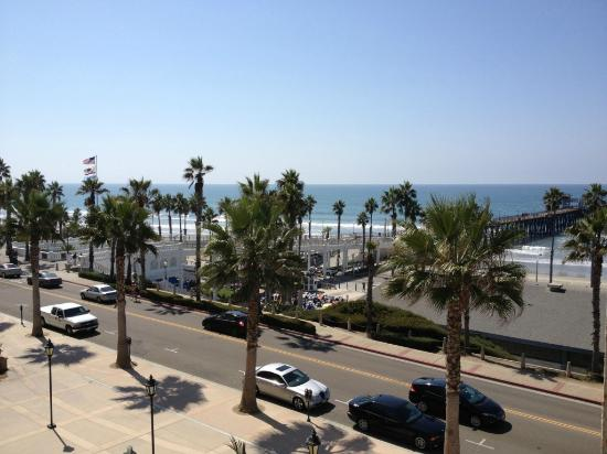 Wyndham Oceanside Pier Resort: Lovely view