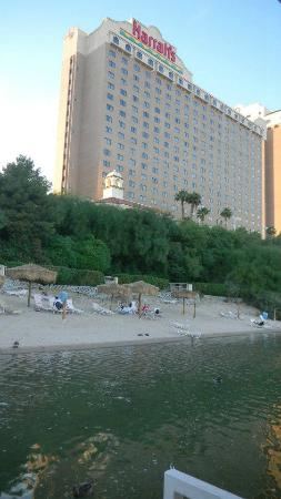 Harrah's Laughlin: View from the water taxi dock