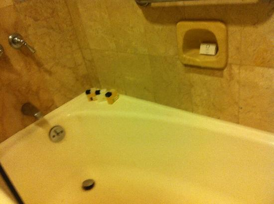 Midas Hotel and Casino: dirty bathtub