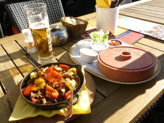 Maredo Steakhouse: Delicioso almoço: fajitas em Dresden!
