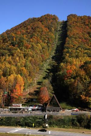 Maggie Valley, Kuzey Carolina: Mile High Chairlift to Ghost Town in the Sky