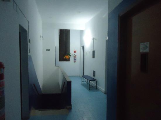 Hotel Prata: Corredor do 3º andar