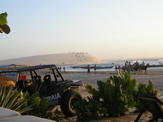 Casa na Praia: Vista da piscina