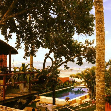 Casa na Praia: Vista da Suíte Mar