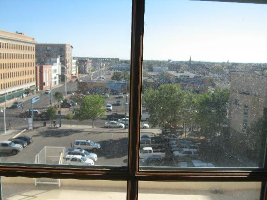 Hotel Andaluz: My room with a view...prime real estate...looking over Route 66