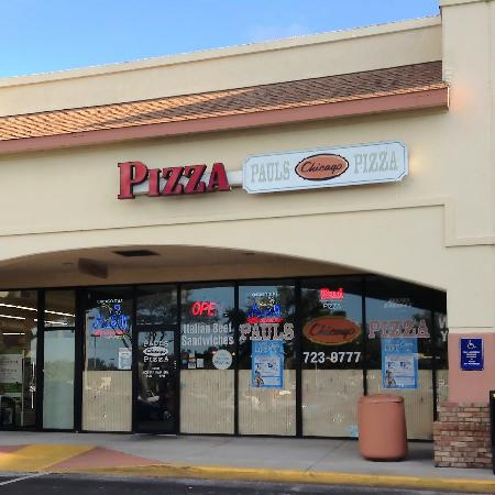 Paul's Chicago Pizza: Paul's Pizza-Clearwater