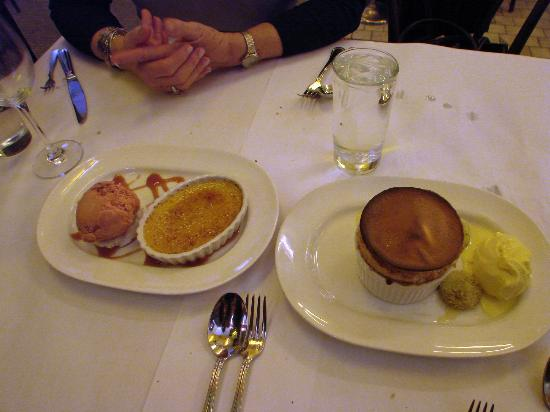 Can Can Brasserie: fabulous desserts