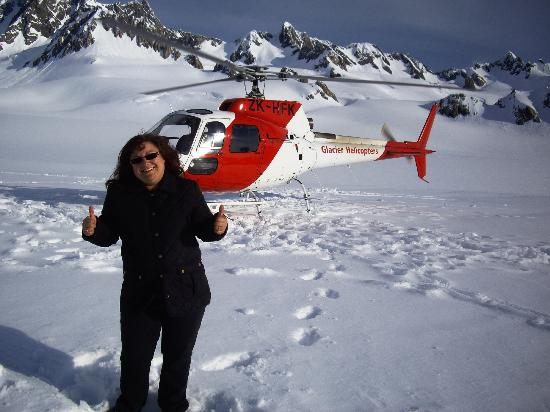 Glacier Helicopters: At the top of the glacier