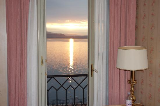 Hotel Villa Carlotta: View from our room