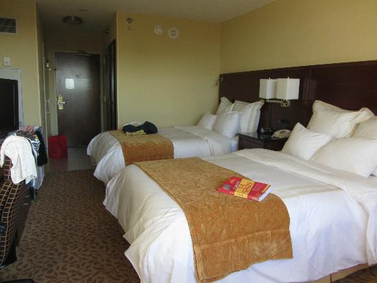 Tampa Marriott Westshore: Our room