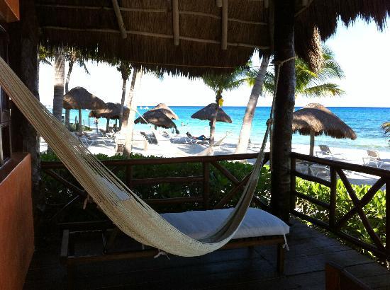 Mahekal Beach Resort: View from oceanfront room 31P