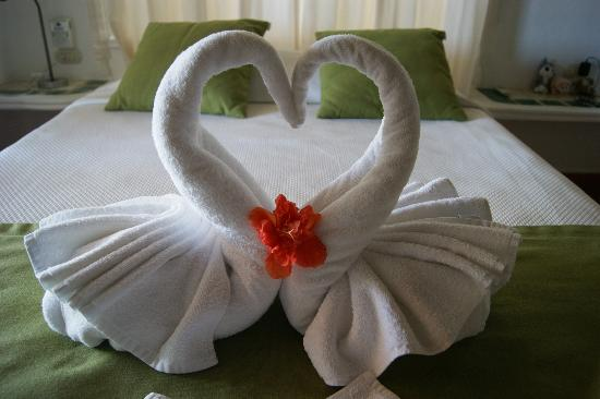 Mahekal Beach Resort: Sweet towel animals