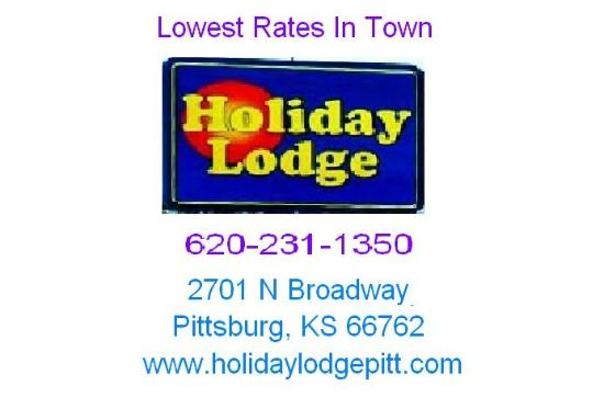 Holiday Lodge: Sign