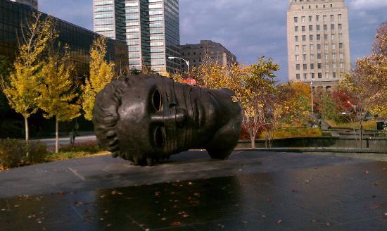 City Garden: Sculpture in the park.