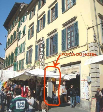 Corte dei Medici: fachada do hotel