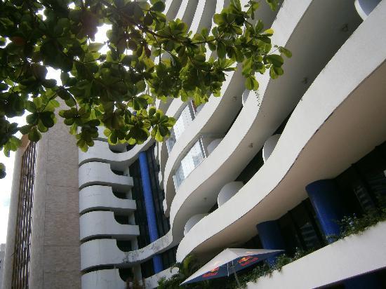 Atlantic Towers: Vista do Hotel