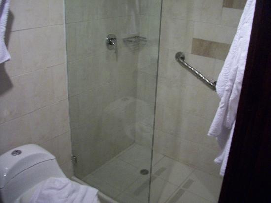 Hotel Plaza 36: ducha