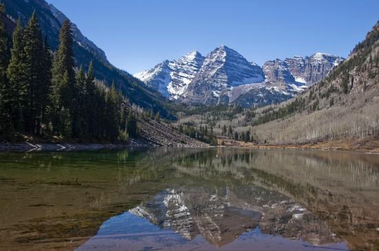 Buckskin Pass: The Maroon Bells (14ers)