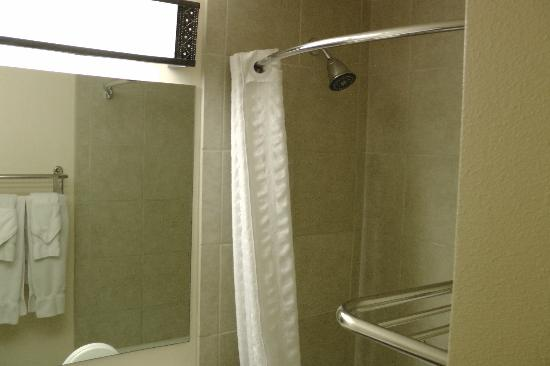 BEST WESTERN PLUS Rio Grande Inn: clean shower