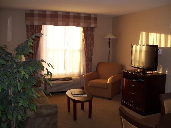 Homewood Suites by Hilton Burlington: living room area