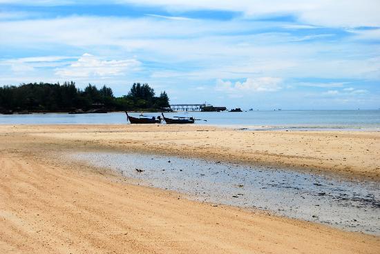 The Tubkaak Krabi Boutique Resort : Beach
