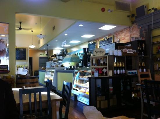 Cafe Chartreuse : внутри