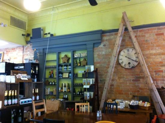 Cafe Chartreuse : интерьер