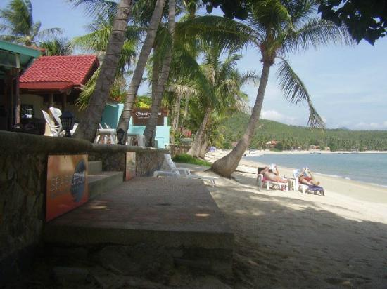 Secret Garden Beach Resort: So close to the waters edge, so quiet but so central