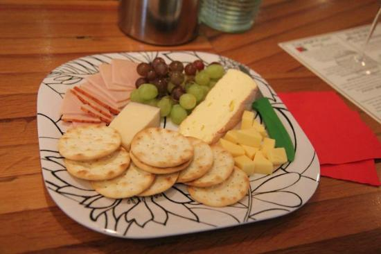 A Nose For Wine Tours: Wonderful appetizers provided by Fred