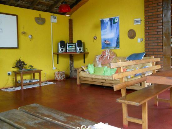 Garden Stone Hostel : Área recreativa y de estar