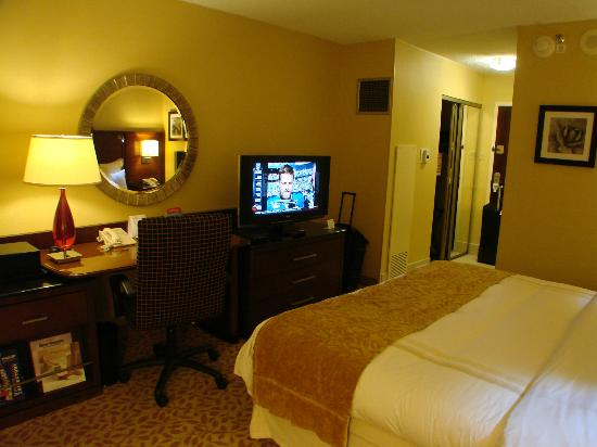 Albuquerque Marriott: clean room, comfortable bed