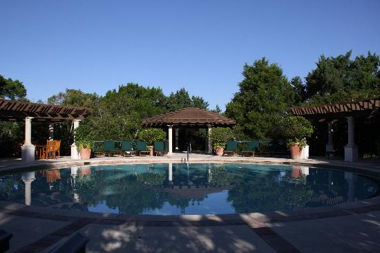 The Cloister at Sea Island: One of many pools