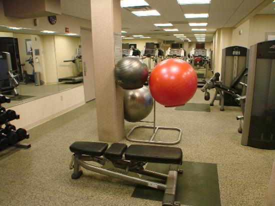 Albuquerque Marriott: good work out room