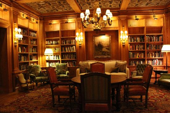 The Cloister at Sea Island: The library