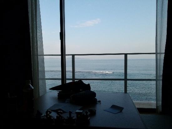 Bayside Square Kaike Hotel: 4階からの眺め