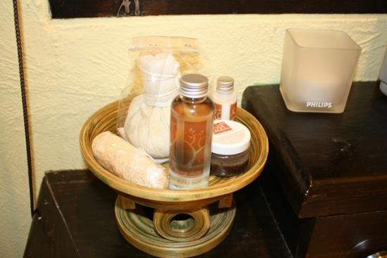 Phra Nang Inn : DIY spa