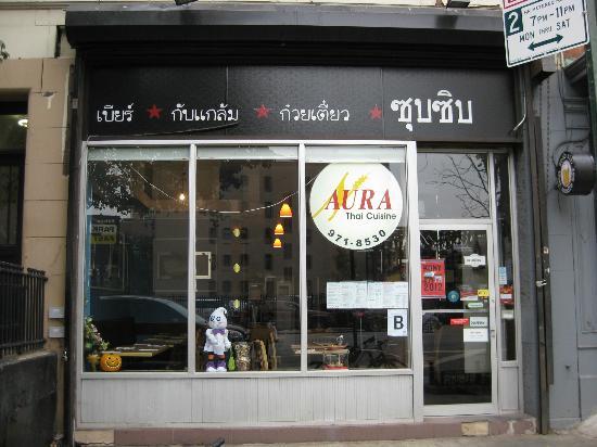 Zoob zib thai noodle bar new york city midtown for Aura thai fusion cuisine new york ny