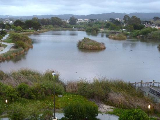 Holiday Inn Express At Monterey Bay: Lagoon view from room