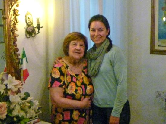 Casa Rabatti: Marcella and I