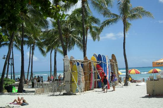 Waikiki Banyan: A walk down to the Beach