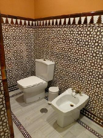 Hotel Alhambra Palace: トイレ&お尻洗い?