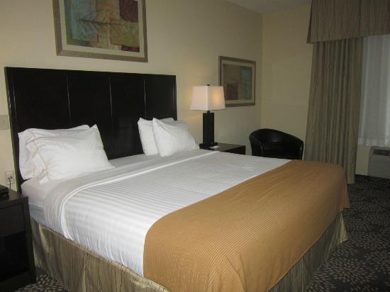 Holiday Inn Express Hotel & Suites Grand Island: Bedroom