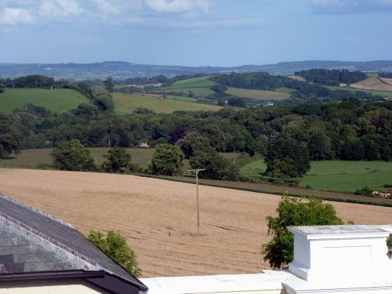 Best Western Exeter Lord Haldon Country Hotel: Countryside view from our room..