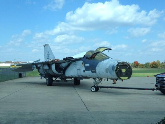 Aviation Heritage Park: F-111 to be restored in the USAF livery operating out of RAF Lakenheath...this aircraft particip