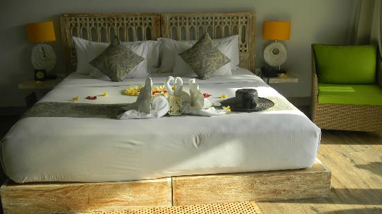 KajaNe Mua Private Villa & Mansion: Very comfortable king bed