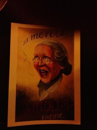 Chez Grand Mere: la grand-mère!